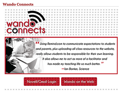 Wando Connects website